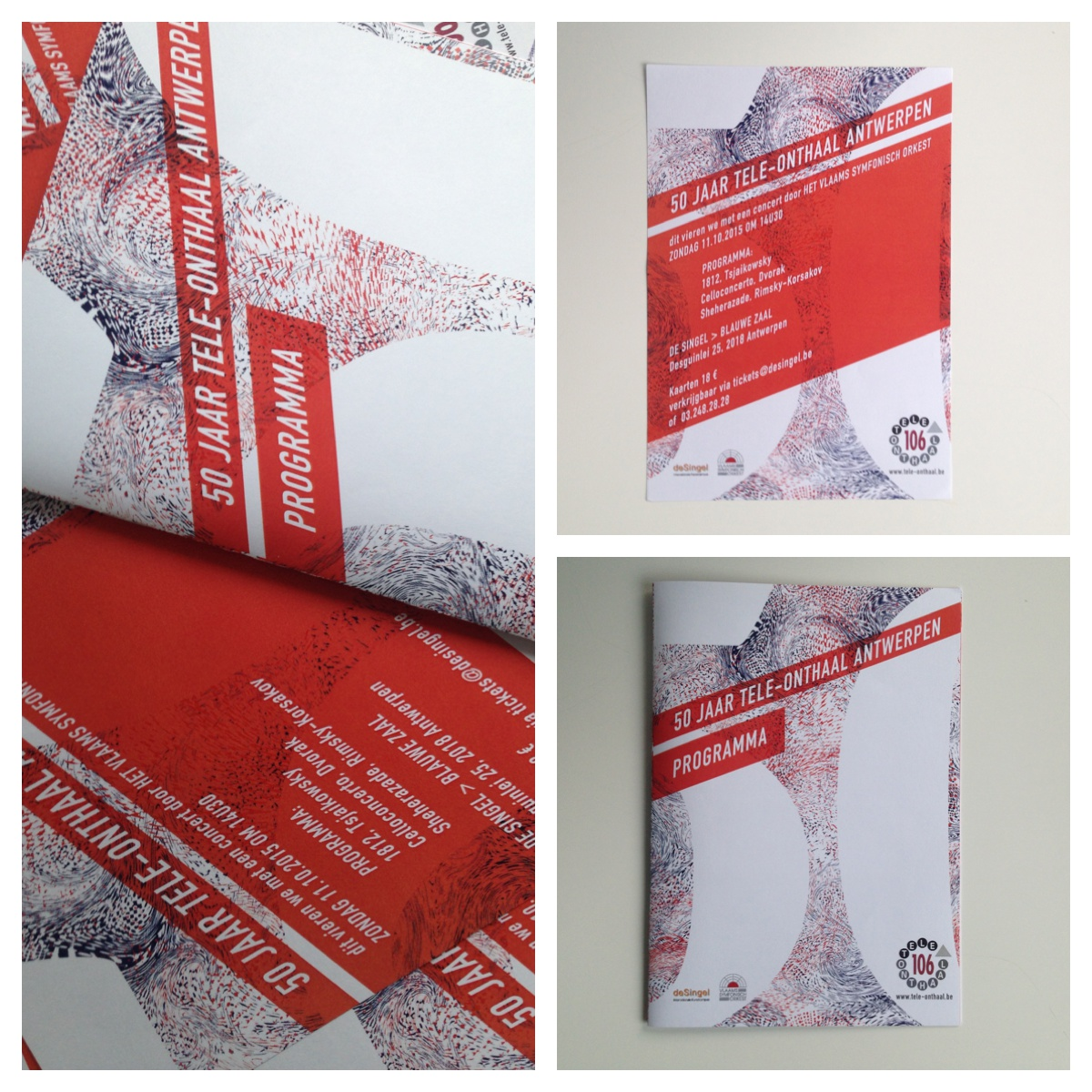 drukwerk poster flyer tele-onthaal