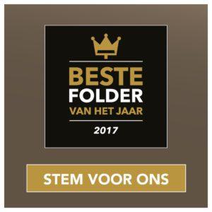 Nominatie beste folder van het jaar