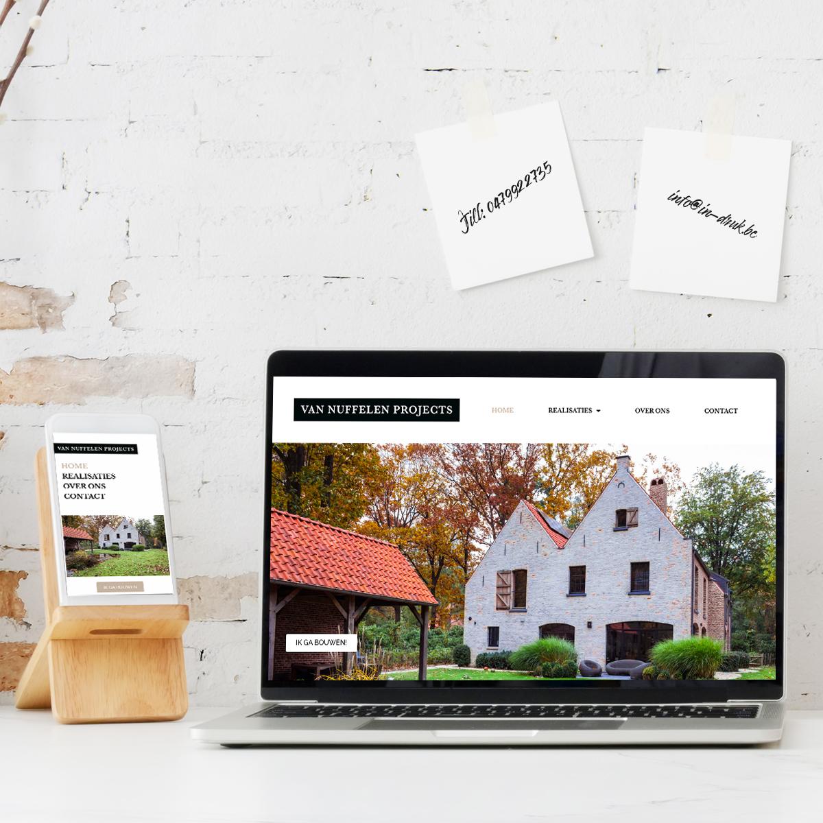 website van nuffelen projects